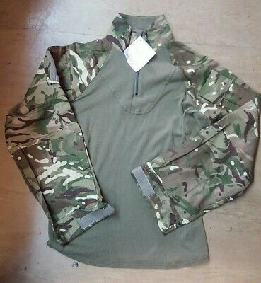 New British Army Issue MTP PCS FR Aircrew Combat Top UBAC Size XL 190/110 for sale  Grays
