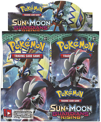 Pokemon Sun And Moon Guardians Rising Booster Pack   1X Booster Pack   In Stock