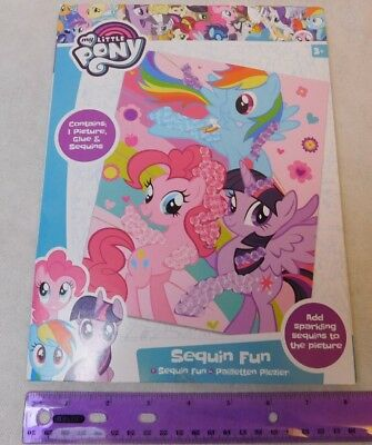 My Little Pony Merchandise (My Little Pony Sequin Fun Art Kid's Craft Kit UK Merchandise/Shipping from)