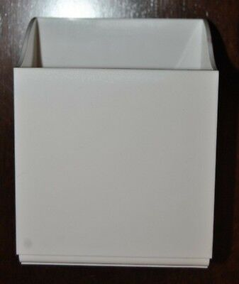 Martha Stewart Home Office Avery Wall Manager Tall Caddy White