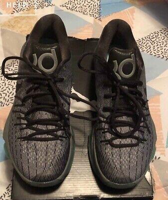 MEN'S NIKE KD 8 Men's Basketball Shoes (GRAY). SIZE 8 Men's US No Original Box