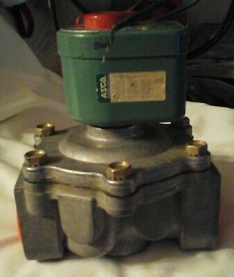 Asco 1 14 Electric Gas Valve For Wet Chem Fire System Ansulpyro Chem Kidde Sy