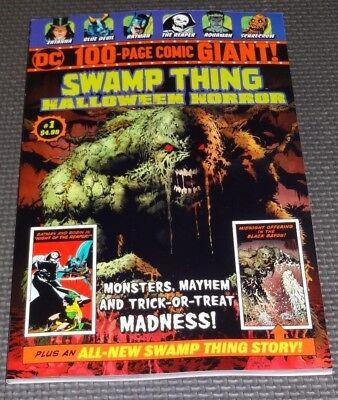 SWAMP THING HALLOWEEN HORROR #1 - Walmart Exclusive High Grade Unread Zatanna A](Halloween Collection Walmart)