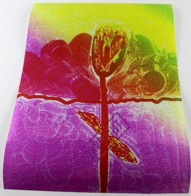 Fensterfolie **Verliebte Blume**B:30 H:40 cm    Maler *Paintcast* Aschaffenburg