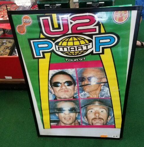 U2 POSTER LIVE NEW NEVER OPENED EARLY 2000