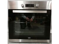 Beko Electric Oven BRIF22300X/PCC57113, 6 months warranty,Delivery available in Devon/Cornwall