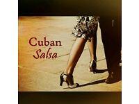 Cuban salsa dance partner needed!