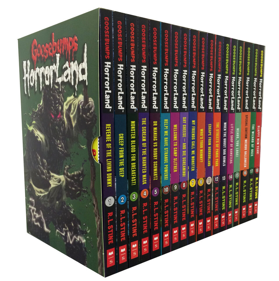 Goosebumps Horrorland Collection R L Stine 18 Books Set -4081