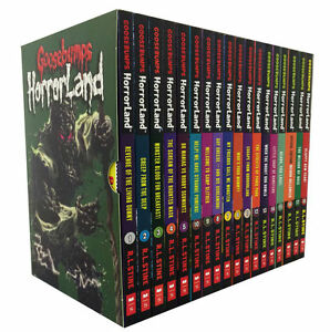 Goosebumps Horrorland Collection R L Stine 18 Books Set HorrorLand Series