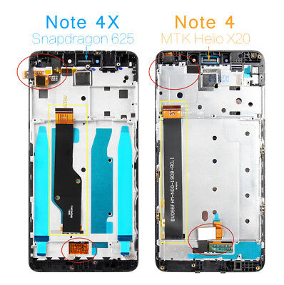 Version Lcd (LCD Display Screen For Xiaomi Redmi Note 4X (Note4 Global Version) Snapdragon625 )