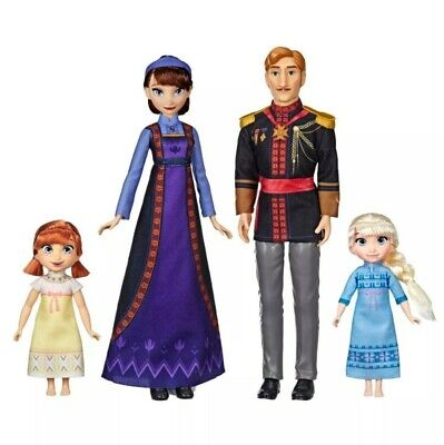 Disney Frozen 2 Arendelle Royal Family - EXCLUSIVE 4 DOLL SET