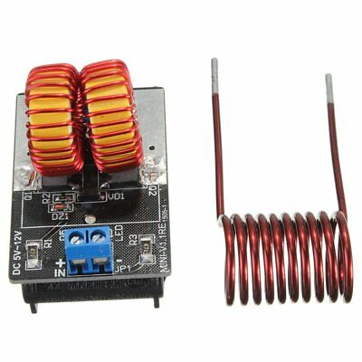 - 5V-12V Low Voltage ZVS Induction Heating Power Supply Module + Heater Coil HL