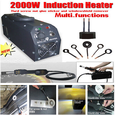 2000W Induction Heater Car PDR Paintless Dent Repair Tool Remover Cleaner 220V