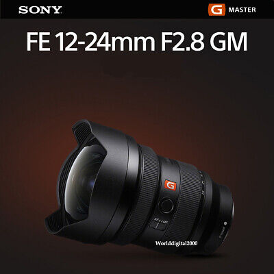 Sony SEL1224GM FE FE 12–24 mm F2.8 GM Lens ForSony E-mount Full Frame Body