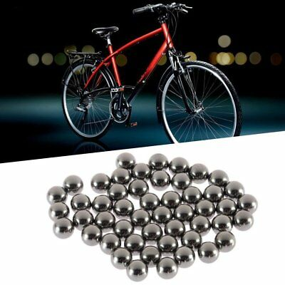 50pcs Replacement 4mm 5mm 6mm 8mm 9mm 10mm Bike Bicycle Steel Ball Bearing Nd