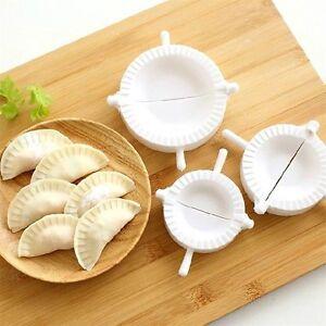 3pcs Dumpling Mold Pierogi Turnover Ravioli Empanada Dough Press Mould Maker UG