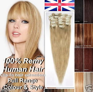 100 Real Hair Extensions 46