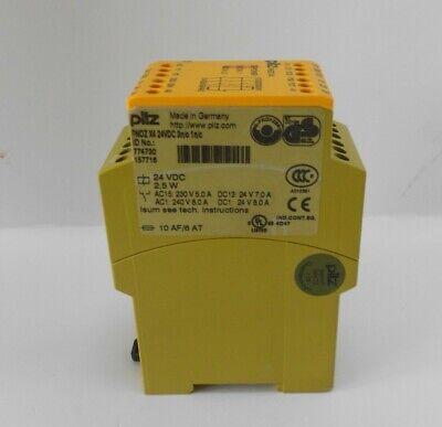 Pilz Pnoz X4 774730 Safety Relay 24vdc 3n0 1nc.
