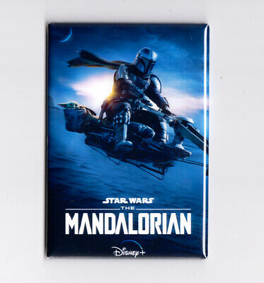 "STAR WARS THE MANDALORIAN SEASON 2 / SPEEDER - 2"" x 3"" POSTER MAGNET jedi disney"