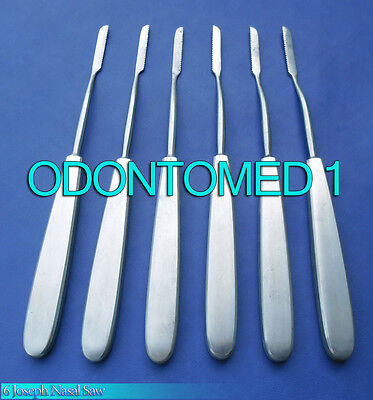 6 Joseph Nasal Saw Surgical Orthopedic Instruments