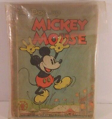 Mickey Mouse Pop Up Book/ Rare/Year: 1933/Vintage/ Walt Disney