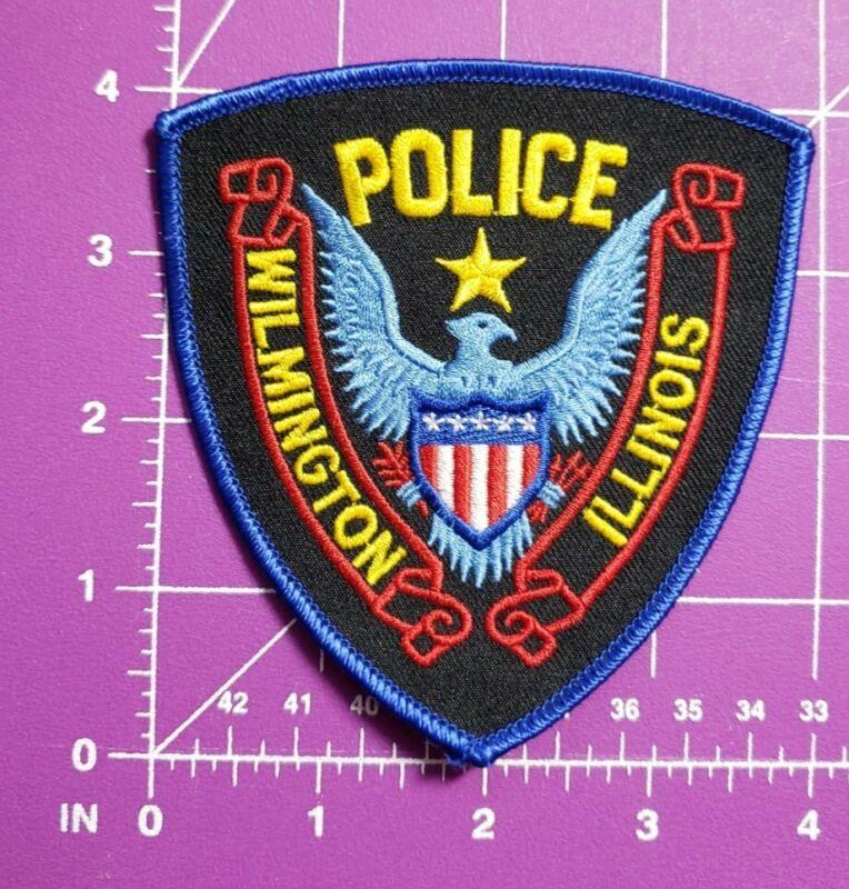 Wilmington Illinois Police-shoulder patch