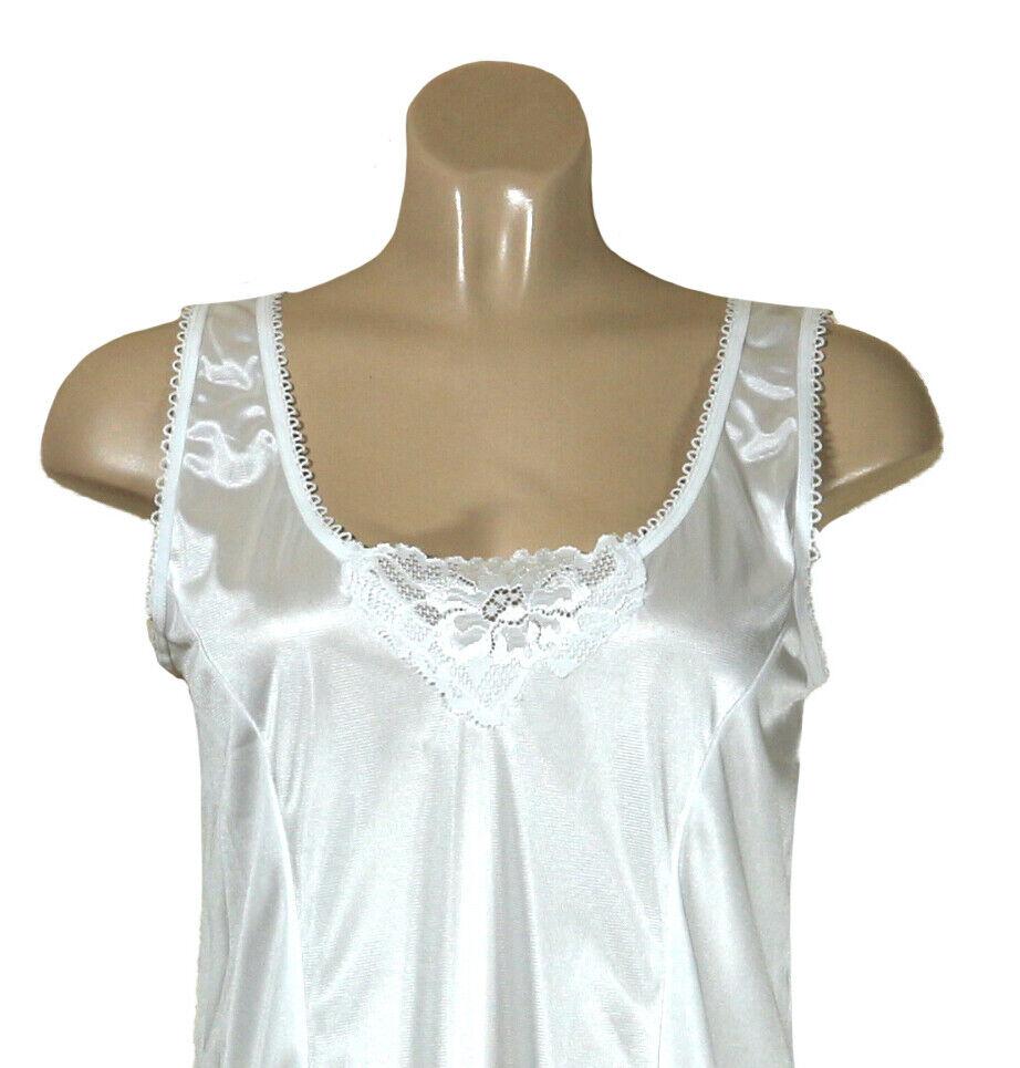 2 Damen Unterkleider Unterröcke in weiß Größe 44/46 Sonderpreis
