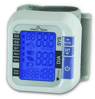 Easyhome Digital Wrist Blood Pressure Monitor - Fda Cleared For Otc Ebp-017