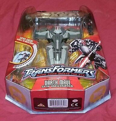 Star Wars Transformers Darth Maul Sith Infiltrator