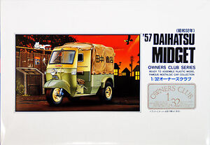 Arii Owners Club 1/32 07 1957 Daihatsu Midget 1/32 scale kit (Microace)