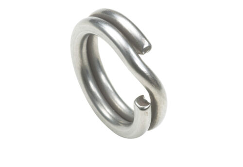 Owner HyperWire Stainless Steel Split Rings - Bass, Trout & Pike Terminal Tackle