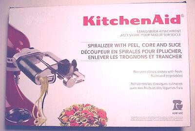 NEW NIB KITCHENAID 5 Blade Attachment SPIRALIZER/CORER/SLICER/PEELER Sealed $99