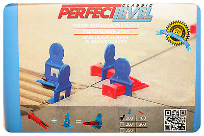PerfectLevel Professional tile leveling system for perfect tile50 Klemm+50 Keile