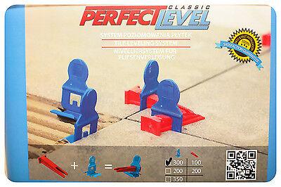 NEW!! Nivelliersystem PERFECT LEVEL, Keine RUBI,RAIMONDI 500 Klemmen+100 Keile