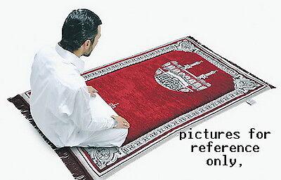 Islamic Praying Mat Muslim Prayer Floor Rug, Praying Rug.