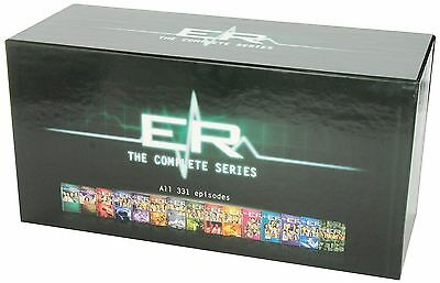 ER: The Complete Series - Seasons 1-15 DVD Box Set, Region 1, 331 Episodes