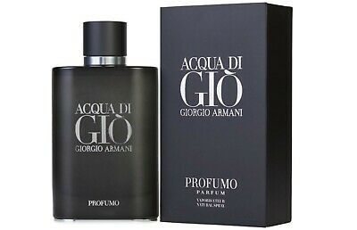 Acqua Di Gio Profumo By Giorgio Armani Parfum Men 4.2 Oz/125 Ml Spray NEW IN BOX