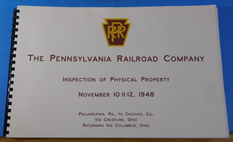 Pennsylvania Railroad Company Inspection of Physical Property 1948