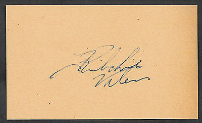 Ritchie Valens Autograph Reprint On Genuine Original Period 1950S 3X5 Card
