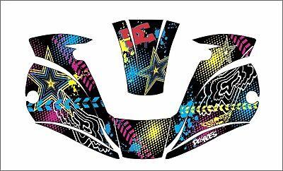 Miller Digital Elite 257213 Titanium Welding Helmet Wrap Decal Sticker D G