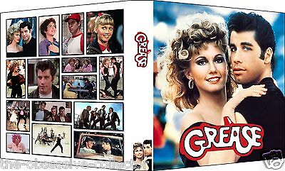 GREASE Custom 3-Ring Binder Photo Album OLIVIA NEWTON-JOHN & JOHN TRAVOLTA