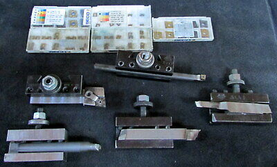Five Different Assorted Aloris Dorian Axa Holders With 69 Inserts