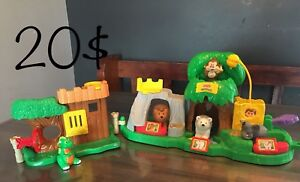 Le zoo Little People complet