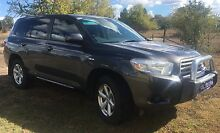 2009 Toyota Kluger KX-R AW Inverell Inverell Area Preview