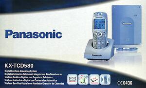 Panasonic KX-TCD580 GS NEU schnurlos mit AB KX-TCD 580