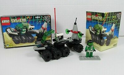 1993 VINTAGE LEGO SET 6852 SPACE POLICE SONAR SECURITY 100% ORGL BOX and INSTRS