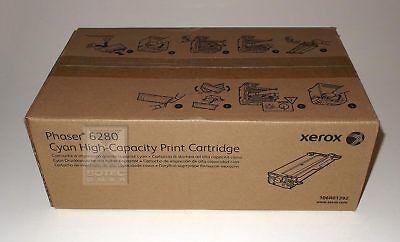 Xerox Toner Print Cartridge 106R01392 Cyan für Phaser 6280 MFP High-Capacity