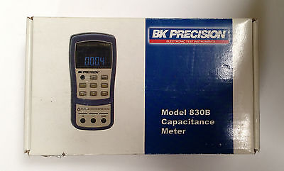 BK Precision 830B Dual Display Capacitance Meter to 200 mF