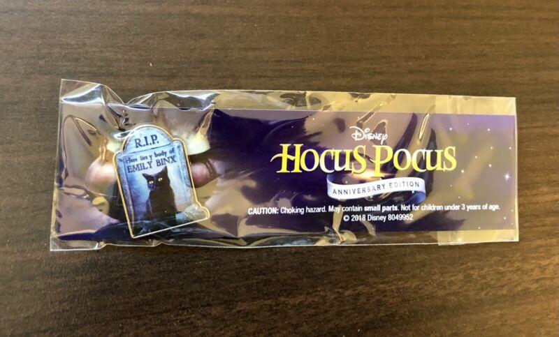Hocus Pocus 25th Anniversary Exclusive Pin Binx Black Cat RIP Emily Disney RARE
