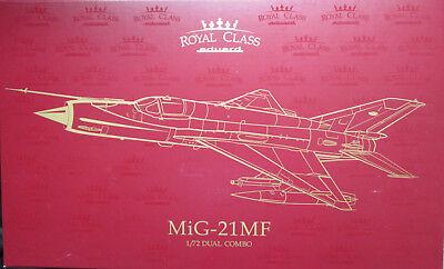 MiG-21MF Fishbed ROYAL CLASS Dual Combo Eduard Models EDUR017 1//72 Royal Class